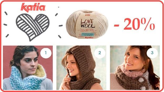 АКЦИЯ! -20% на пряжу Love Wool