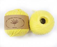 Пряжа Рафия (Raffia), цвет 030 лимон