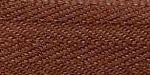Молния Meras потайная неразъемная, 1 замок 3мм 60см, цвет 2237 коричневый