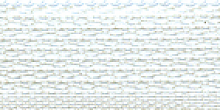 Молния Meras потайная неразъем, 1 замок 3мм 50см, цвет белый