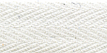 Молния Meras потайная неразъемная, 1 замок 3мм 60см, цвет 2101 белый