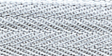 Молния Meras потайная неразъемная, 1 замок 3мм 60см, цвет 2118 светло-серый