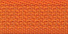 Молния Meras потайная неразъем, 1 замок 3мм 50см, цвет оранжевый