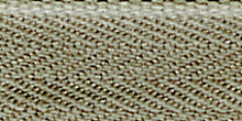 Молния Meras потайная неразъемная, 1 замок 3мм 60см, цвет 2125 серо-коричневый