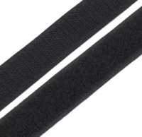 Лента контактная (липучка) черная, 50 мм