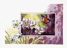 """Набор для вышивания """"Нарциссы и бабочка"""""""