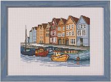 """Набор для вышивания """"Лодки"""""""