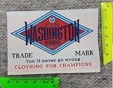 "Нашивка клеевая ""WASHINGTON"" (термоаппликация)"