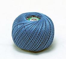 Пряжа Ирис, 100% хлопок 25гр. 2508 т.голубой