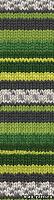 Пряжа Alize SUPERWASH 100 цвет 2696 зеленая полянка