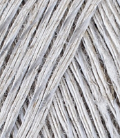 «Блестящий лён» № 371 натуральный серый