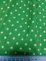 Маркизет горошек зеленый