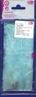 Перья марабу светло-голубые, 8-10 см