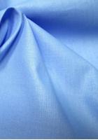 Бязь голубая однотонная