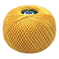 Пряжа Ирис, 100% хлопок 25гр. 0305 желтый