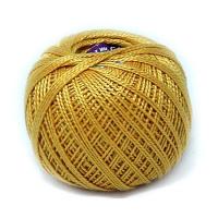 Пряжа Ирис, 100% хлопок 25гр. 0306 т. желтый