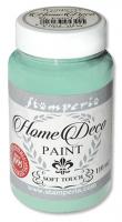 """Краска для домашнего декора на меловой основе """"Home Deco"""" акварельный зеленый, 110 мл"""