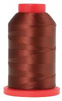 Оверлочная полупрозрачная нить SERALENE (СЕРАЛЕН), 2000 м  №0196 терракот