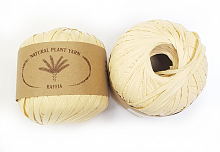 Пряжа Рафия (Raffia), цвет 032 солома