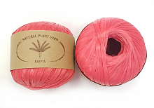 Пряжа Рафия (Raffia), цвет 053 малина