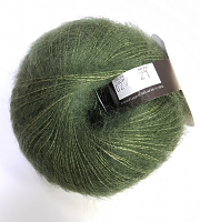 Пряжа Софт Дрим (Soft Dream) 27 темная зелень