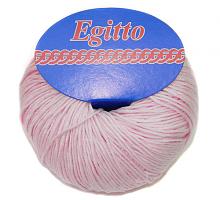 Пряжа Егитто (Египет) 32 нежно розовый