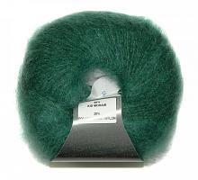 Пряжа Мохер Рояль 5896 зеленая пастель