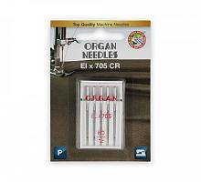 Иглы для бытовых швейных машин Organ ELх705 №90  5 шт в блистере