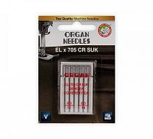 Иглы для бытовых швейных машин Organ ELх705 ассорти 6 шт в блистере