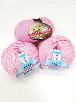 Набор для шапочки Juli-6 розовый: пряжа+описание