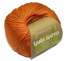 Пряжа Сахар (SUGAR) 8721 морковный