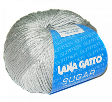 Пряжа Сахар (SUGAR) 7660 серебро
