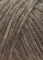 Novena with Baby Alpaca (Новена) 0039 серо-коричневый меланж