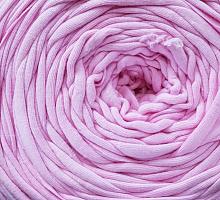 Пряжа трикотажная Макерони розовый