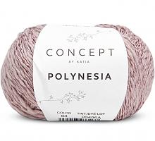 Пряжа Полинезия (Polynesia), цвет 63 бледно-розовый