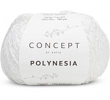 Пряжа Полинезия (Polynesia), цвет 60 белый