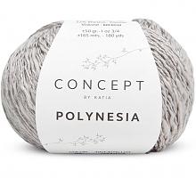 Пряжа Полинезия (Polynesia), цвет 65 льняной-серый
