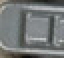Шубный крючок серый