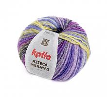 Пряжа Azteca Milrayas, цвет 703 лиловый/фиолетовый