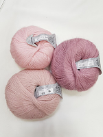 Пряжа Сетал (Setal), цвет 0174 нежно-розовый