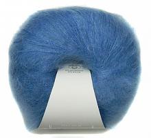 Пряжа Мохер Рояль 8397 ярко-голубой