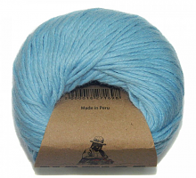 Пряжа Натика 2528 небесно-голубой