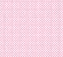 Поплин горошки на розовом