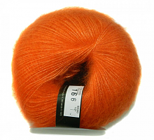 Пряжа Софт Дрим (Soft Dream) 166 оранж