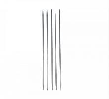 """Спицы прямые металлические """"Gamma"""" 5-ти компл. металл d 3 мм, 20 см под никель"""