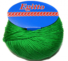 Пряжа Егитто (Egitto) 45 яркая зелень