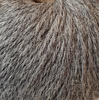 Пряжа Альпака Силк (Alpaca Silk), цвет 0435 серый меланж
