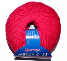 Мерино-12 цвет 9603 малина