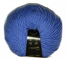 Пряжа Мерино софт 011 синий колокольчик