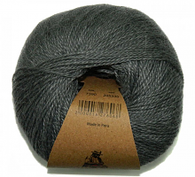 Пряжа Альпака Силк (Alpaca Silk) цвет 7390 маренго